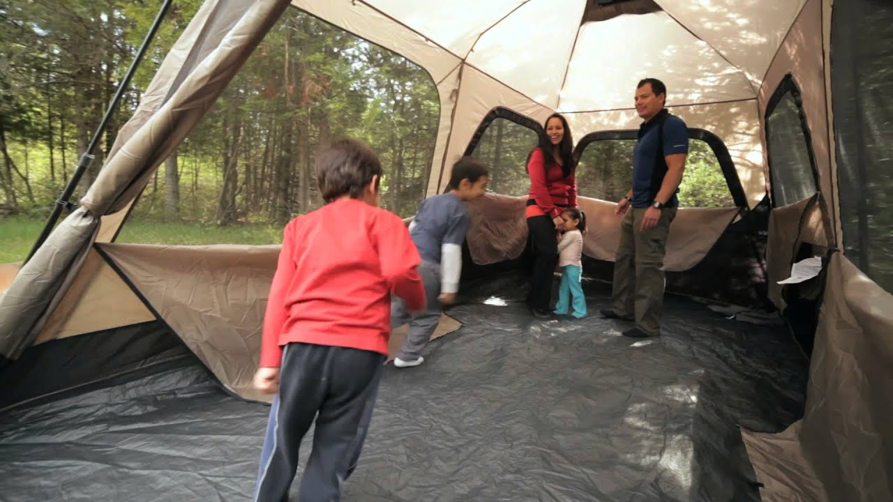 & Mendez Familys Review of the Coleman Instant Tent from... - YouTube