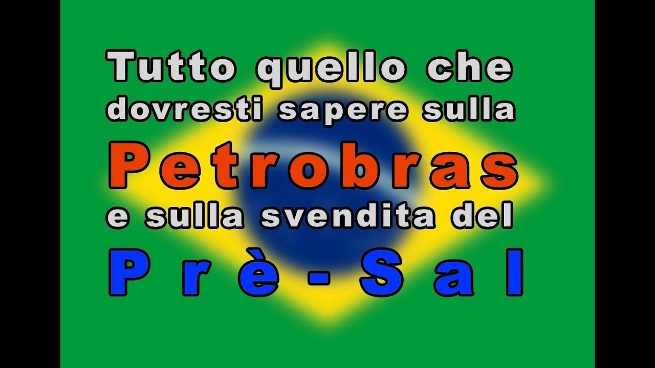 Tutto quello che dovresti sapere sulla Petrobras e sulla svendita del Prè-Sal