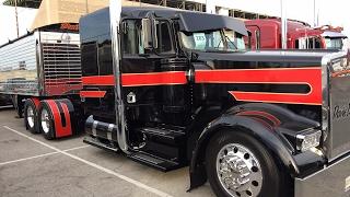 Mid America truck show.  Выставка Американских фур