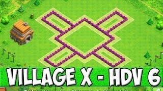 Clash of Clans - Village X pour HDV 6