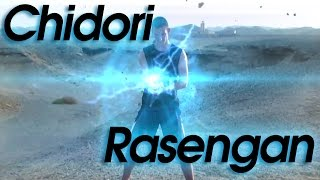 Chidori & Rasengan Combination - REAL LIFE Naruto