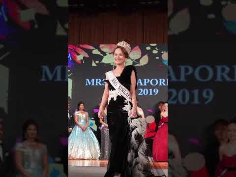 Our founder Cherry Lok Mrs Singapore Globe 2018