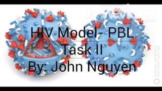 HIV Model - STEM SOS PBL Level 2 Project
