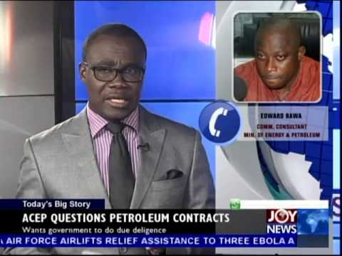 Petroleum Contracts Questioned - Today's Big Story on Joy News (16-9-14)