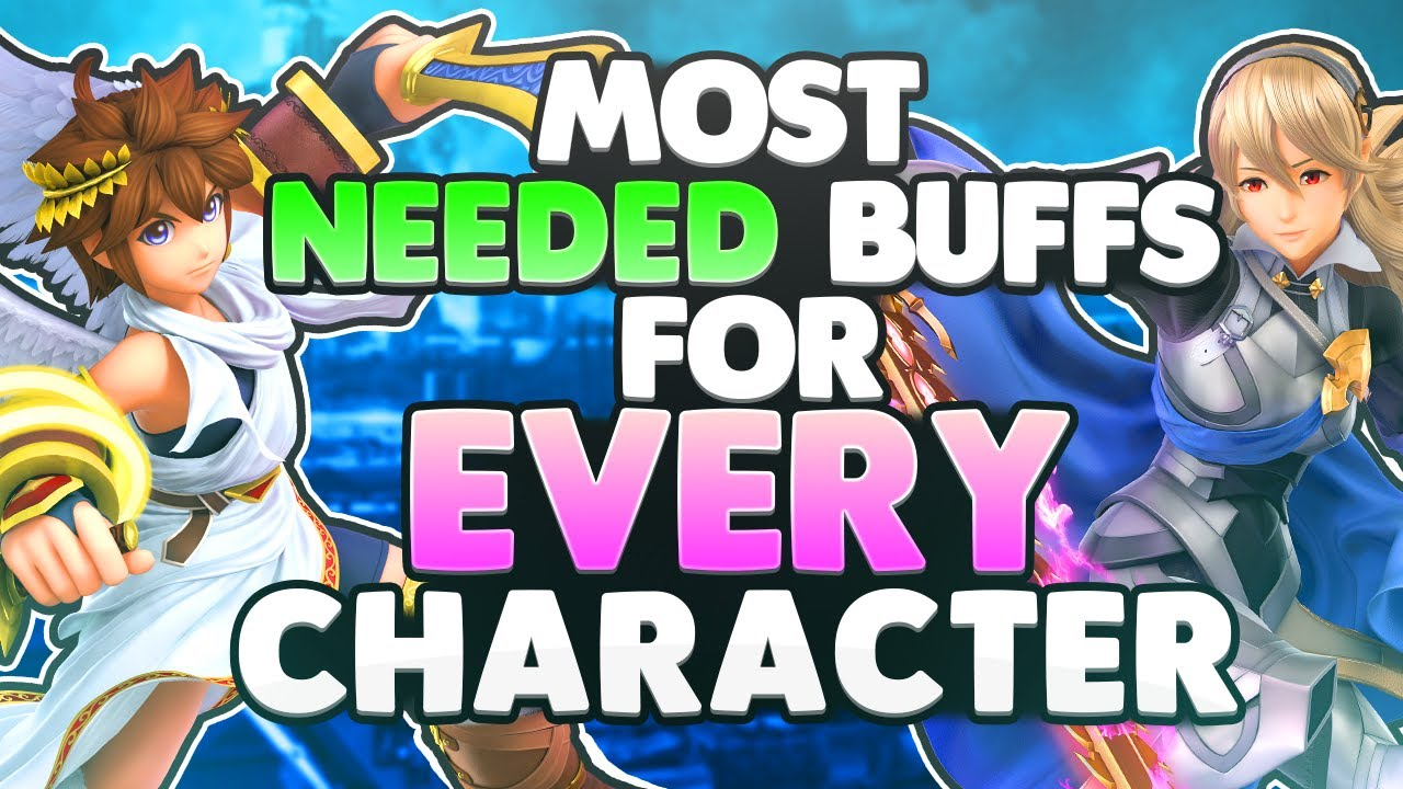 The MOST NEEDED BUFFS For EVERY CHARACTER | Super Smash Bros. Ultimate thumbnail