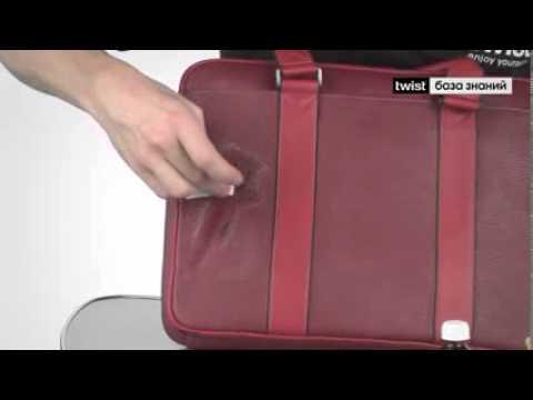 Как вывести чернильное пятно с кожаной сумки