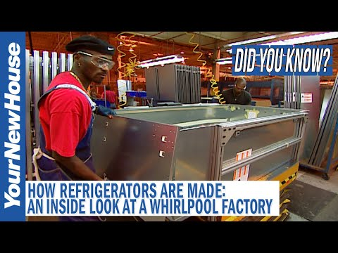 How Refrigerators are Made: Whirlpool Factory Tour - Did You Know?