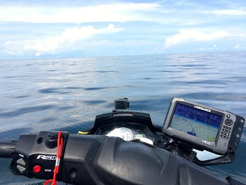 Yamaha Jet Ski Transducer & GPS Install, new products to show