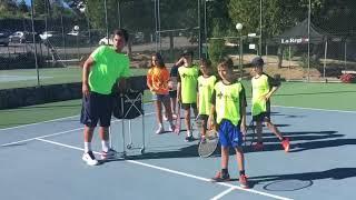 Jornada de tenis en el club Santo Domingo