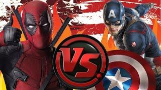 Deadpool vs Captain America ultimate Death Battle