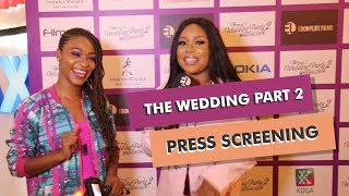 THE WEDDING PARTY 2 PRESS SCREENING  Reaction Video