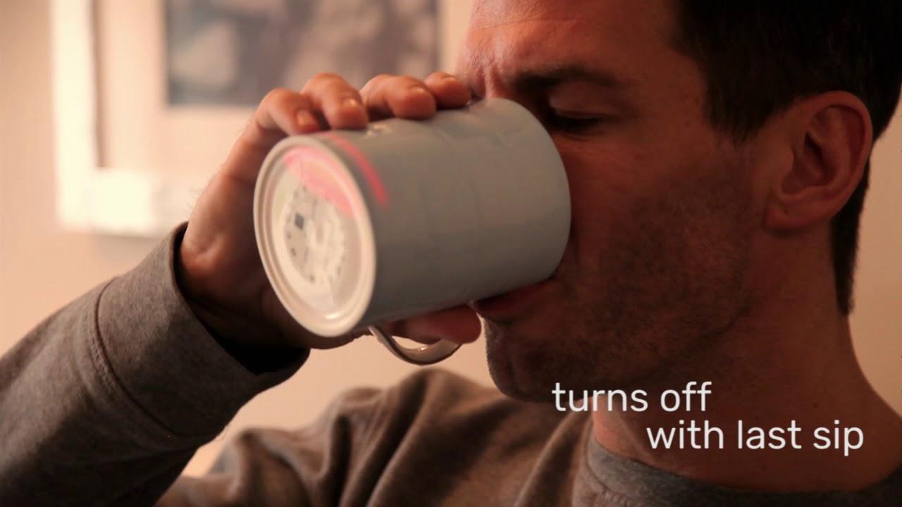 Classic Smart Mug // White video thumbnail