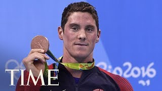 Olympic Swimming Champion Retires After Receiving Ban For Injecting Testosterone Pellets | TIME