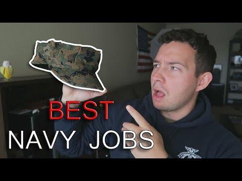 Top 5 BEST US Navy Jobs 2019