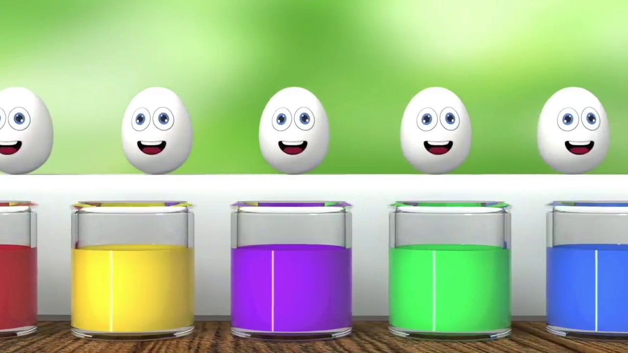Learn Colors in English for Kids with 3D animation videos