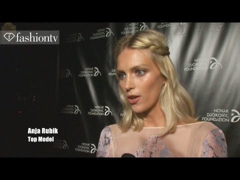 Novak Djokovic Foundation Gala ft Karlie Kloss, Anja Rubik, Anna Wintour | NYFW 2012 | FashionTV