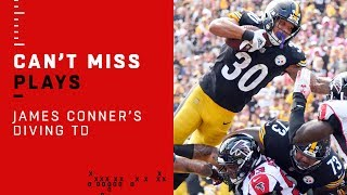 James Conner Carries Steelers on Quick TD Drive