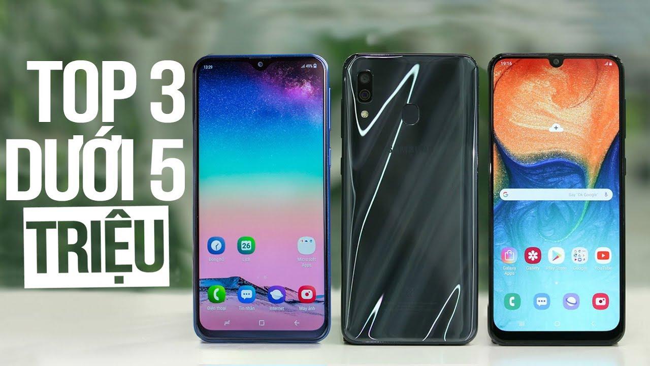 Top 3 Smartphone dưới 5 triệu đáng mua nhất từ Samsung