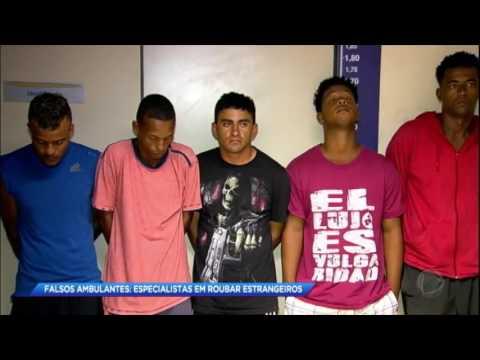 Polícia prende quadrilha especializada em roubar turistas no RJ