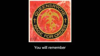 Queensryche - I Will Remember (Lyrics)