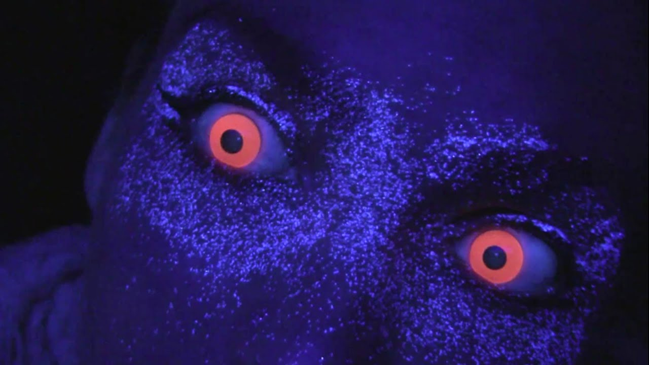 Pink UV Contact Lenses (Pink Rave / Glow Contacts) - YouTube