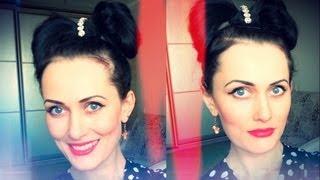 Бант из волос / Hairstyle Idea / Hair Tutorial