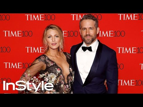 Blake Lively and Ryan Reynolds arrive at the 2017 Time 100 Gala | InStyle
