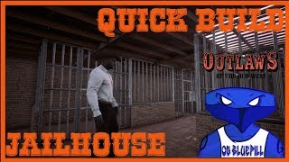 OUTLAWS OF THE OLD WEST   QUICK BUILD   BRICK JAILHOUSE