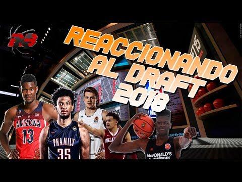REACCIONANDO Y OPINANDO DEL NBA DRAFT 2018! SE NOS VA DONCIC