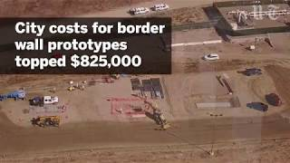 San Diego's Costs For Border Wall Prototypes Over $825,000 | San Diego Union-Tribune