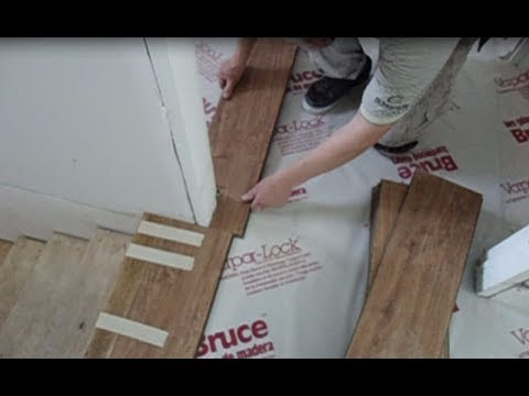 Laminate Floor Installation On Concrete How To Start From The