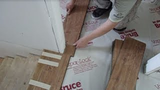 Laminate Floor Installation On Concrete: How To Start From The Stairs