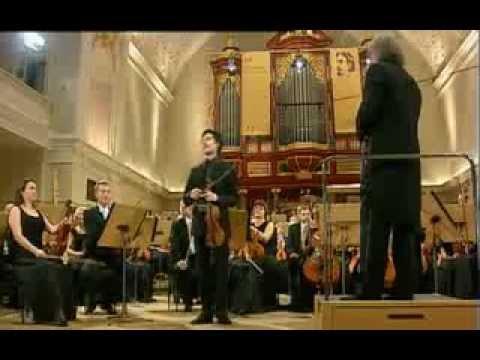 Aylen Pritchin plays at 14th International Henryk Wieniawski Violin Competition 2011 (Stage 4)