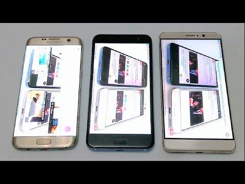 HTC U11 vs Samsung Galaxy S7 Edge vs Huawei Mate 9 - BATTERY DRAIN TEST