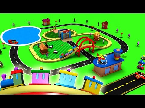 Choo Choo Train - Cartoon For Children - Toy Factory - Trains For Kids - Toy Train - Chu Chu Train