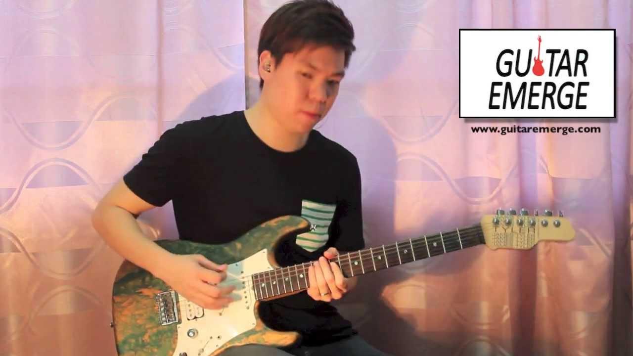 Guitar Emerge Hillsong Live Glorious Ruins Electric Guitar