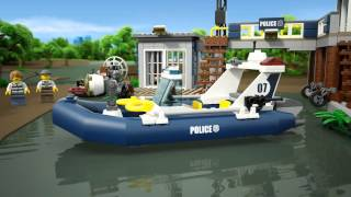 Lego City | 60069 | Swamp Police Station | Lego 3D Review