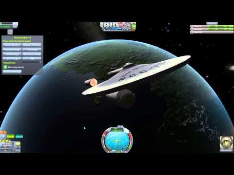 Kerbal Space Program Ships From A Galaxy Far Far Away