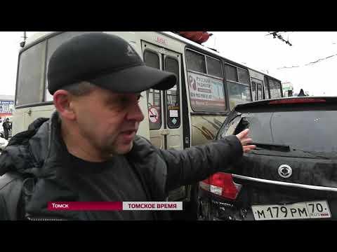 «Вылетел на тротуар, врезался в прохожих»: очевидцы об аварии на Фрунзе