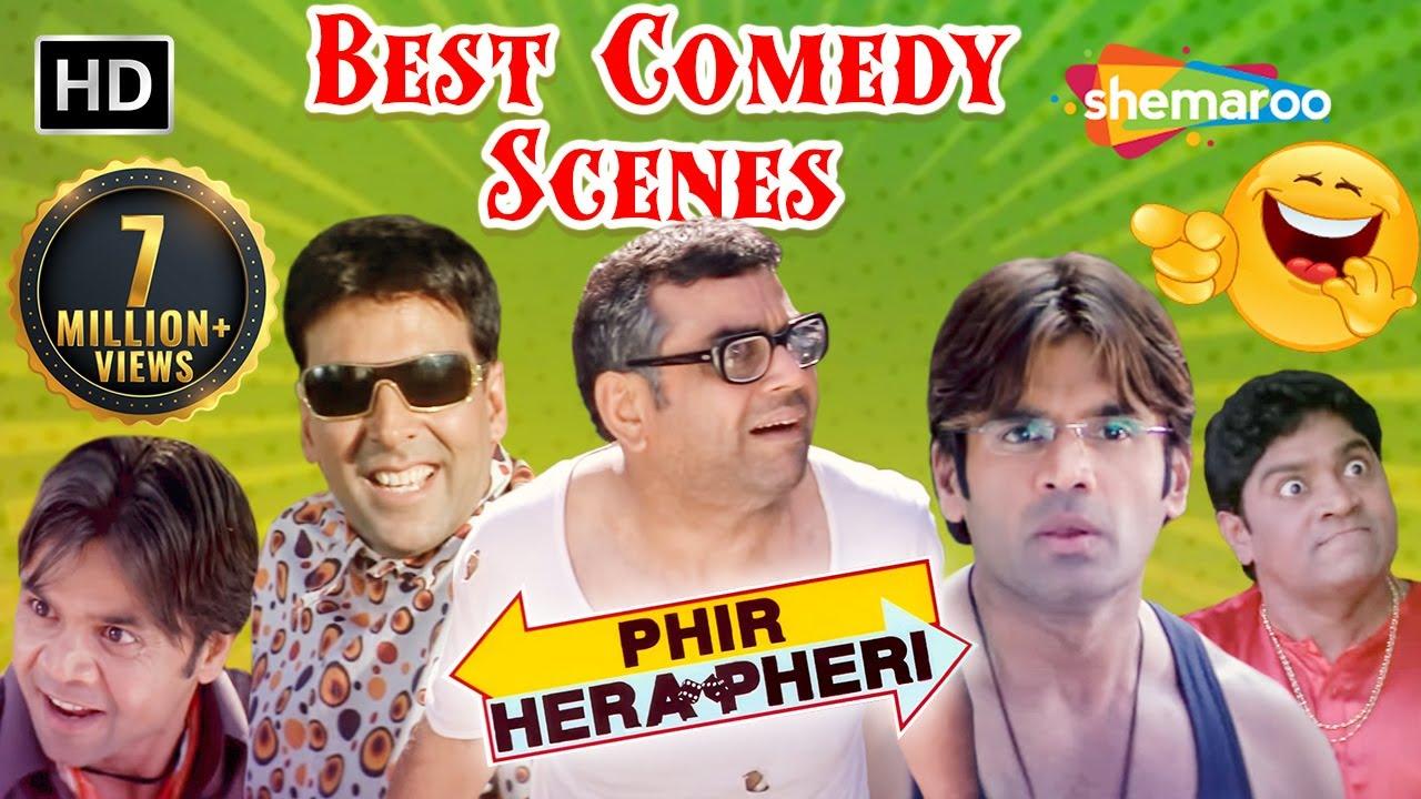 Download Nonstop Comedy Scenes - Phir Hera Pheri - Akshay Kumar - Paresh Rawal - Rajpal Yadav - Sunil Shetty