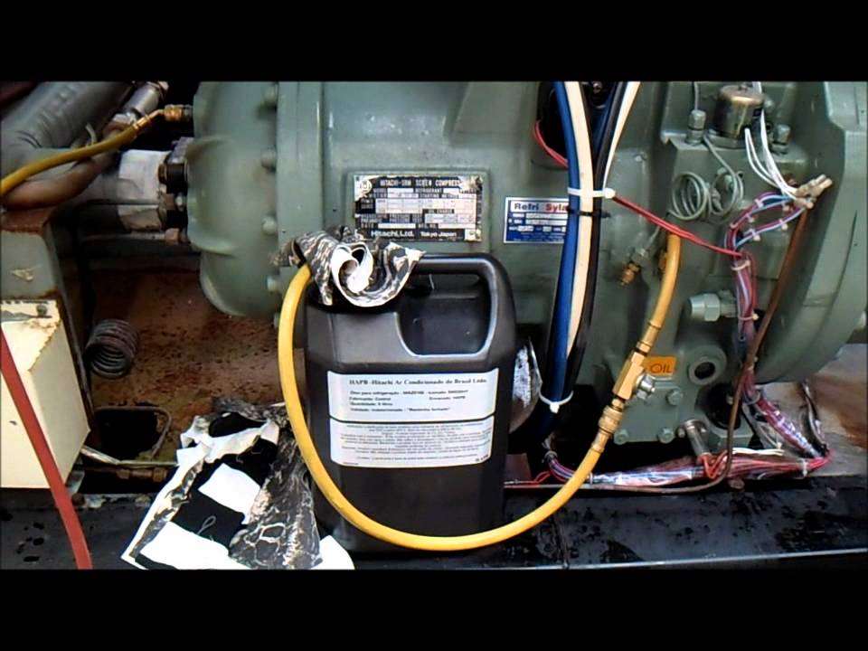 Chiller hitachi substituio do leo compressor parafuso youtube fandeluxe Images