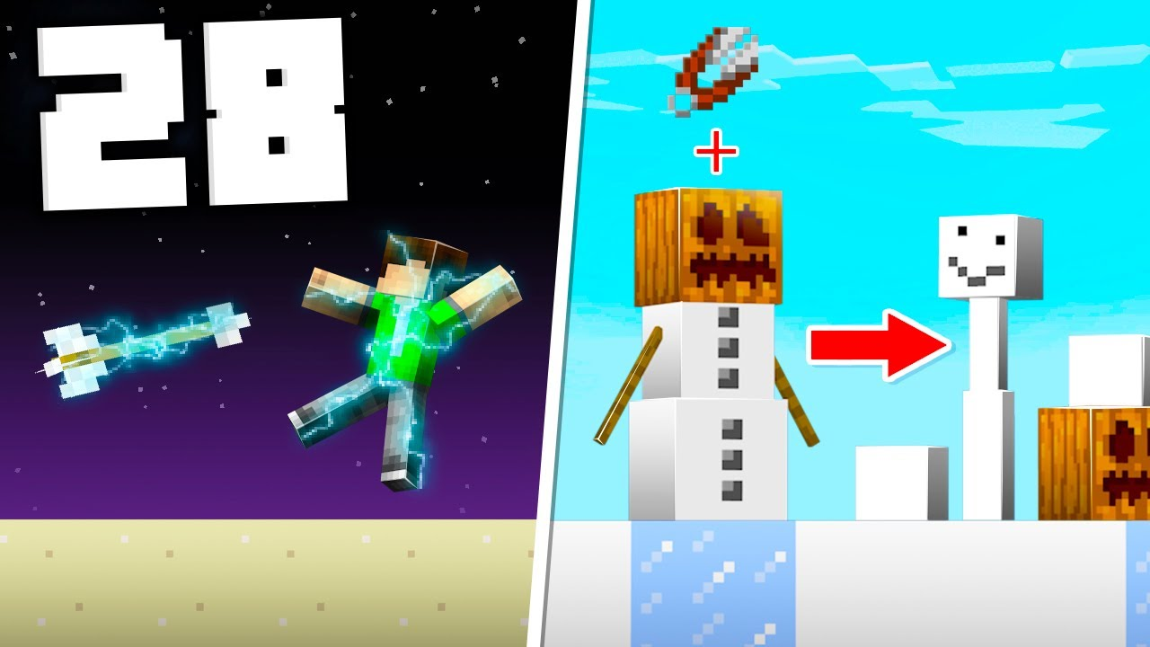 28 Secret Minecraft Things You Didn't Know! thumbnail
