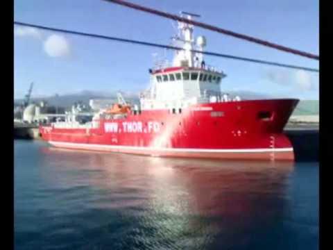 Danish vessel used in oil hunt in occupied Western Sahara