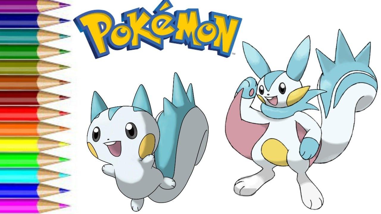 How To Draw Pokemon Pachirisu Transformation For Kids Fun