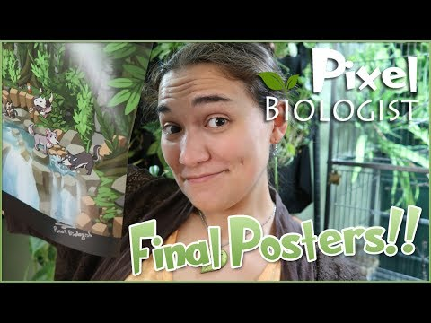 🌿 LAST LIMITED EDITION POSTERS!! & Taiwan Travel News!! 🌿 Pixel Biology Updates