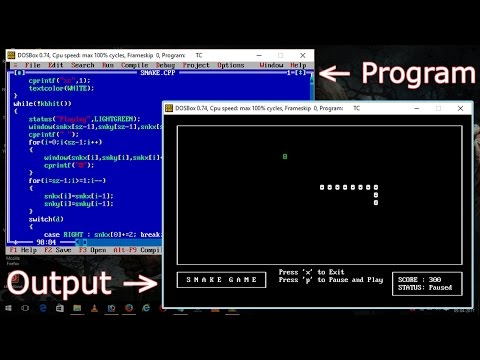 How To Make Snake Game In C++ - With Source Code - Basics For Beginners - Easy Way To Learn
