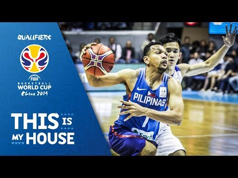 Philippines v Chinese Taipei - Full Game - FIBA Basketball World Cup 2019 - Asian Qualifiers
