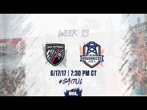 USL LIVE - San Antonio FC vs Tulsa Roughnecks FC 6/17/17