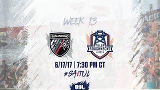 USL LIVE - San Antonio FC vs Tulsa Roughnecks FC 6/17/17 thumbnail
