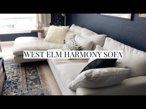West Elm Harmony Sofa | Review + How to Clean